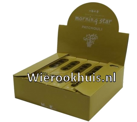 Morning Star Wierook - Patchouli - 50 stokjes