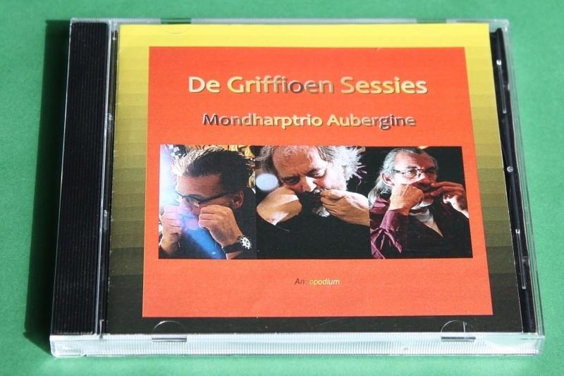 CD: De Griffioen Sessies - Mondharptrio Aubergine