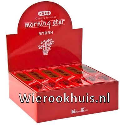 Morning Star Wierook - Mirre - 50 stokjes