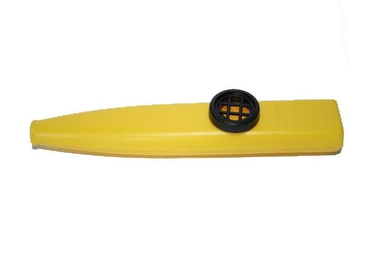 Plastic kazoo, geel