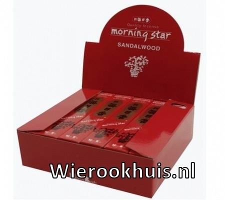 Morning Star Wierook - Sandelhout - 50 stokjes