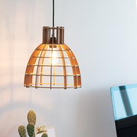 Hanglamp De Lingehof Cone Naturel Ø40