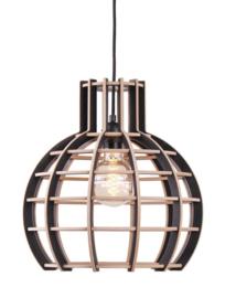 Hanglamp De Lingehof Globe Semi-zwart Ø50