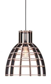 Hanglamp De Lingehof Cone Semi-zwart Ø35