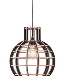 Hanglamp De Lingehof Globe Semi-zwart Ø40