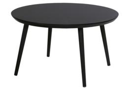 Hartman Sophie Studio Tuintafel Carbon Black Ø128cm