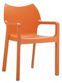 Tuinstoel Diva Oranje