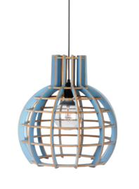 Hanglamp De Lingehof Globe Semi-blauw Ø35