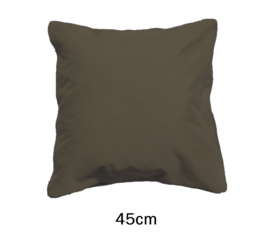 LED Kussen Taupe 45cm