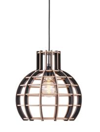 Hanglamp De Lingehof Globe Semi-zwart Ø35