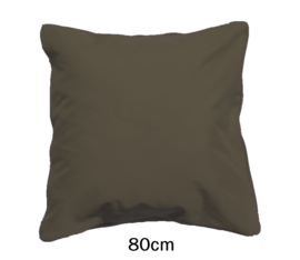 LED Kussen Taupe 80cm