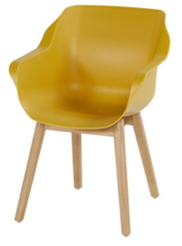 Hartman Sophie Teak Armchair Curry Yellow 4e GRATIS!
