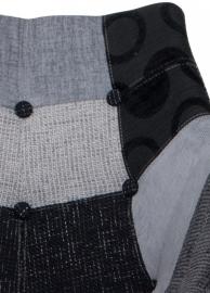 Zuiver Stoel Eleven Patchwork Grey