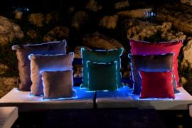 LED Kussen Taupe 45cm