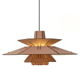 PM5 Pendant Lamp Roze-Naturel