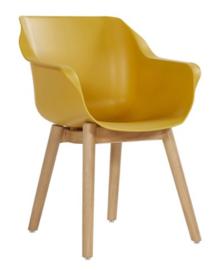 Hartman Sophie Teak Armchair Curry Yellow ACTIE: Gratis Kussen!