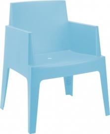 Tuinstoel Box Blauw