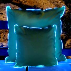 LED Kussen Aqua 65cm