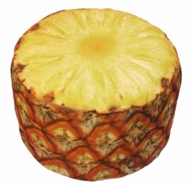Opblaasbare Fruit Poef Ananas