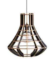 Hanglamp De Lingehof Luster Semi-grijs Ø40