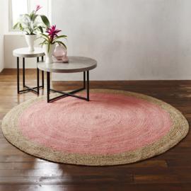 Milano Soft Jute Pale Pink