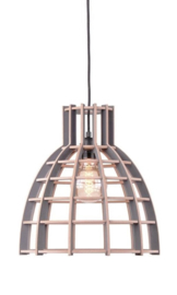 Hanglamp De Lingehof Cone Semi-grijs Ø35