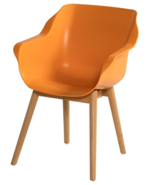 Hartman Sophie Teak Armchair Indian Orange ACTIE: Gratis Kussen!