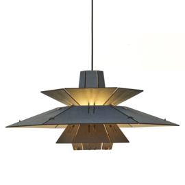 PM5 Pendant Lamp Blauw-Naturel