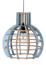 Hanglamp De Lingehof Globe Semi-blauw Ø40
