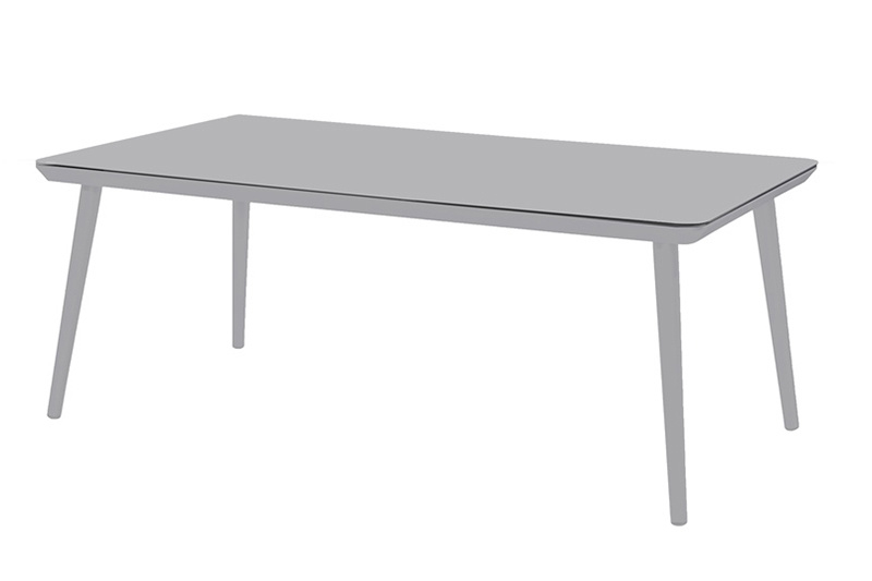 Hartman Sophie Studio Tuintafel Misty Grey 170x100cm