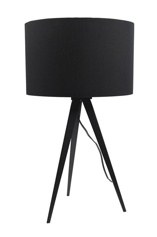 Zuiver Tripod Tafellamp Zwart