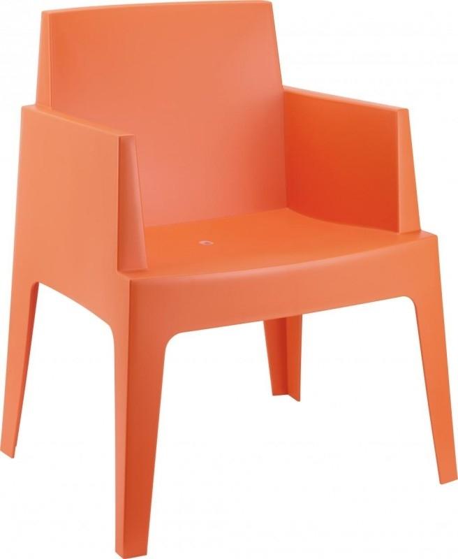 Tuinstoel Box Oranje