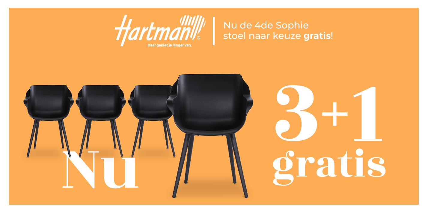Hartman actie 3e gratis