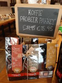 3-delig koffie pakket