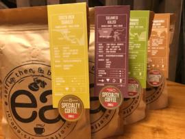 Proef pakket    Origins (landen koffie)