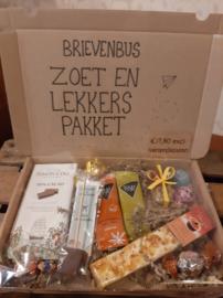 ZOET & LEKKERS BRIEVENBUS CADEAU