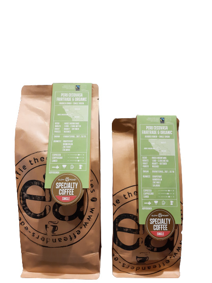 Peru Cecovasa -biologisch / fair trade- koffiebonen 100% arabica