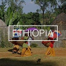 Koffiebonen uit Ethiopië