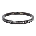 Zirconia ring Black Blackstone