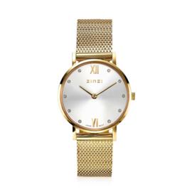 Lady Crystal horloge goudkleurig