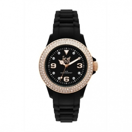Ice Watch Ice-Stone Ice Stone Black Rose Gold Medium