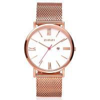 Roman horloge roségoudkleurig
