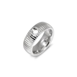 Melano vivid striped ring 6mm