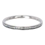 Zirconia ring White Opal