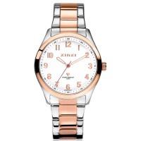 Zinzi horloge zilver/roségoudkleurig