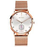 Retro Crystal horloge roségoudkleurig
