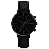 Traveller horloge zwartgekleurd