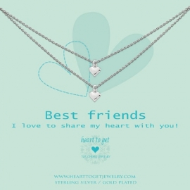 Best friends, I love to share my heart with you!