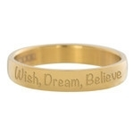 Wish, Dream, Believe Goud
