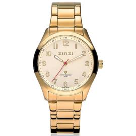Zinzi horloge goudkleurig